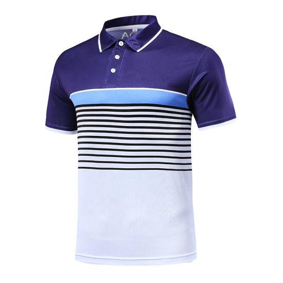 Fashion Design Custom Quick Dry Men Golf Polo Shirt Men Golf Clothes