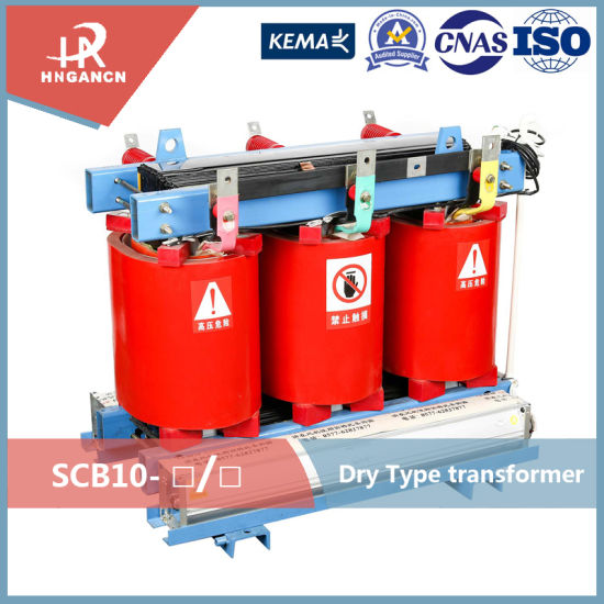 11kv 500kVA Dry Type Transformer Cast Resin Power Transformer Scb11 Series