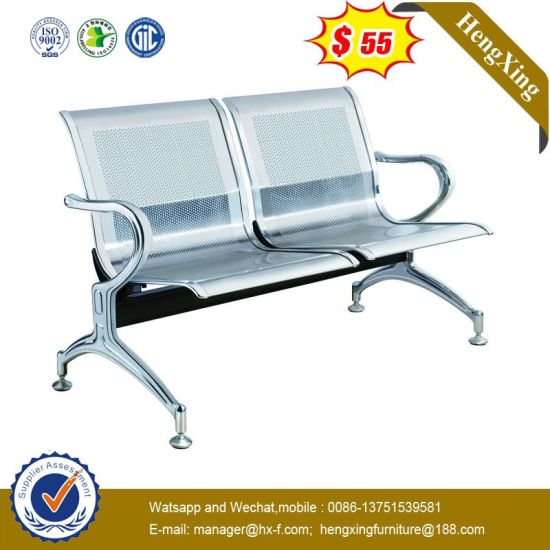 Stainless Steel 2 Seaters Airport Waiting Chair