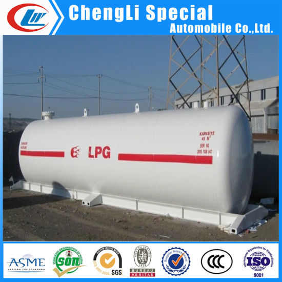 Chinese Manufacturer Underground LPG Storage Tanks with Safety Accessories