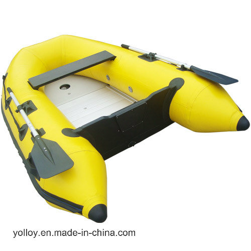 Inflatable Motor Boat Aluminum Plate for Two People pictures & photos