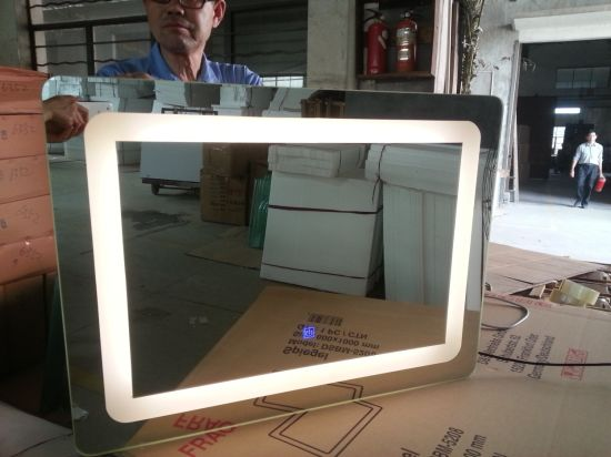 5mm Silver Mirror with Lamp Bathroom LED Mirror