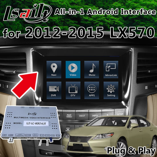 China All-in-1 Plug&Play Android GPS Navigation System for