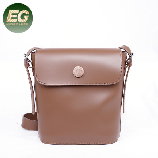 Small Shoulder PU Leather Bucket Lady Handbags Shoulder Bag Sh895 pictures & photos
