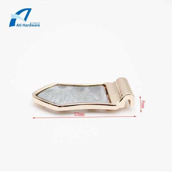 Latest Fashion Style Metal Bag Accessories Decorative Hardware for Men Handbag