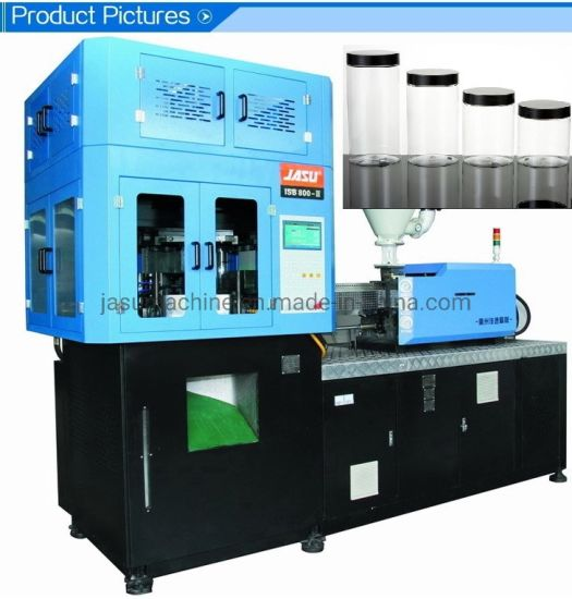 Wide Neck Pet PETG PP PS Jars Cans Plastic Injection Stretch Blow Moulding Machine Isbm Food Container Cosmetic Bottle Jar Making Blowing Molding Machine
