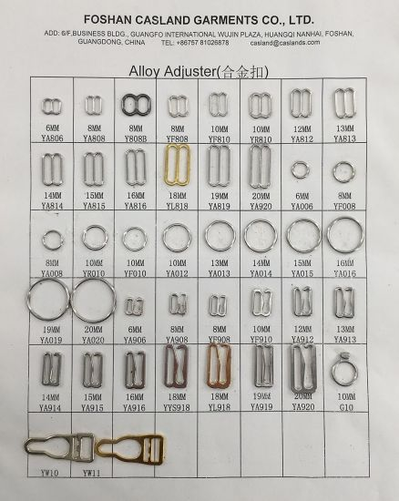 Bra Adjuster Accessories for Garment