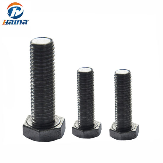 China Stainless Steel Metric Hexagon Bolt DIN933, DIN931