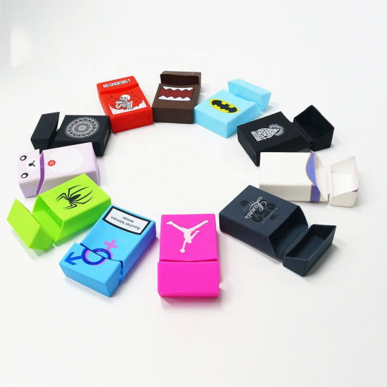 Promotion Gift Free Sample 100s Silicone Electronic Cigarette Case pictures & photos