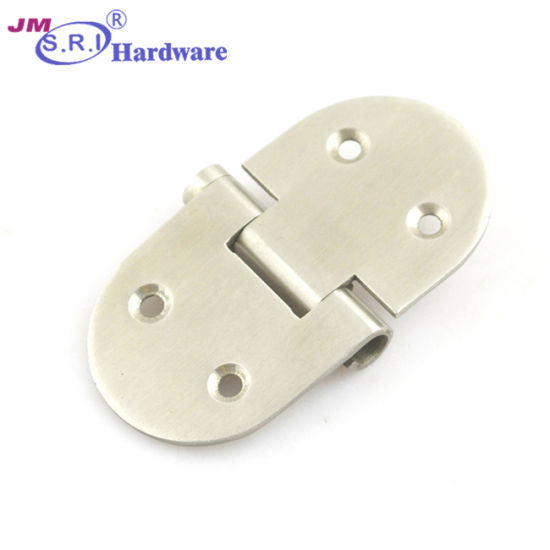 China 2 Hole Stainless Steel Round Kitchen Cabinet Door Hinges