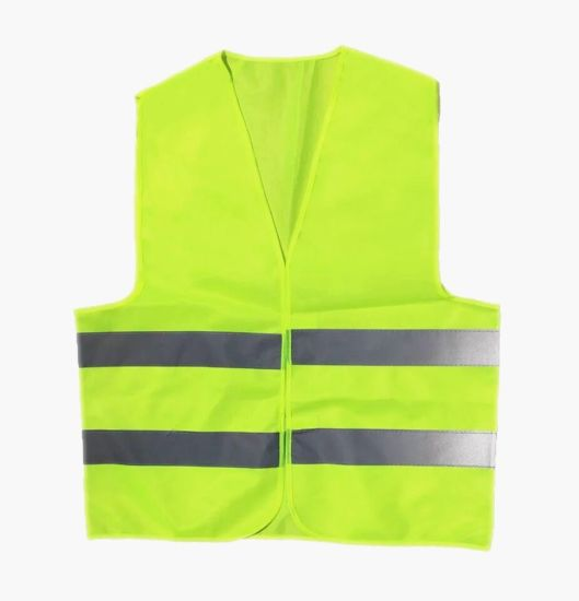 Wholesale Cheap Knitted Fabric Reflector Reflective Safety Vest pictures & photos
