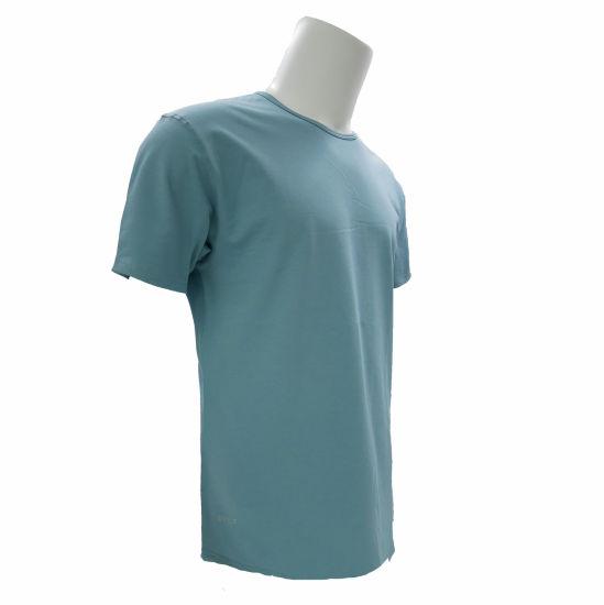 Wholesale Custom Men's Plain Fashion Round Neck T Shirt with Printing Logo