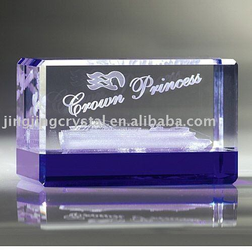 Crystal 3D Laser Table Decor with Base (JD-ND-104)