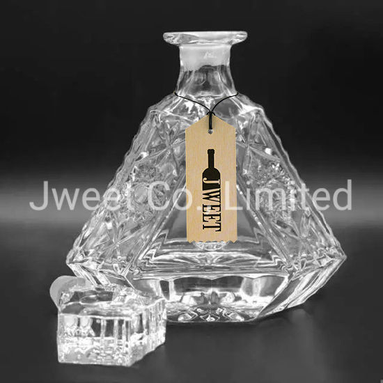 Luxury 750ml Xo Spirit Whisky Wine Vodka Brandy Glass Bottle