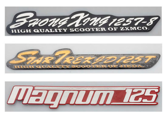Customized metal car logo car models decal emblem custom badge