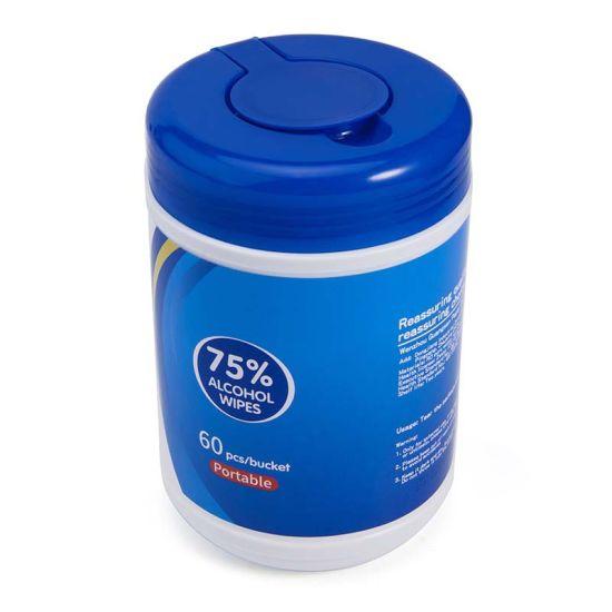 Nail Polish Flushable OEM Customized Antibacterial Wet Wipes