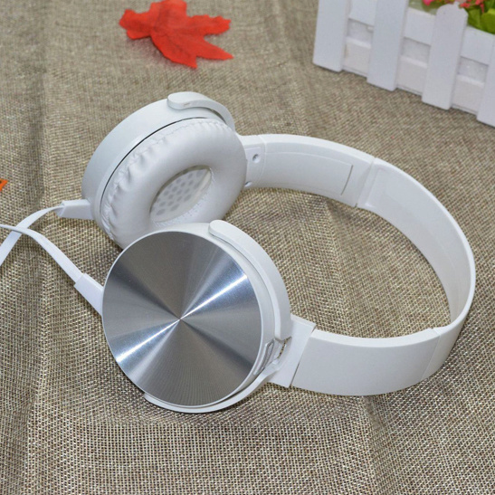 Fashion and High Quality Cord Wired Headphones with Microphones