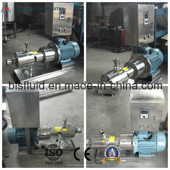 Emulsion Homogenizing Pump Fruit Juice Mixer Fruit Ice Cream Mixer