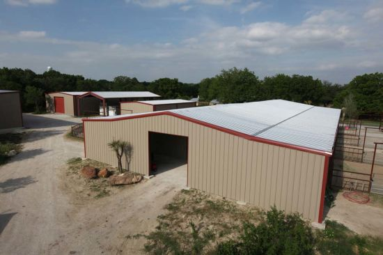 Steel Structure Farm Storage Building (SS-595) pictures & photos