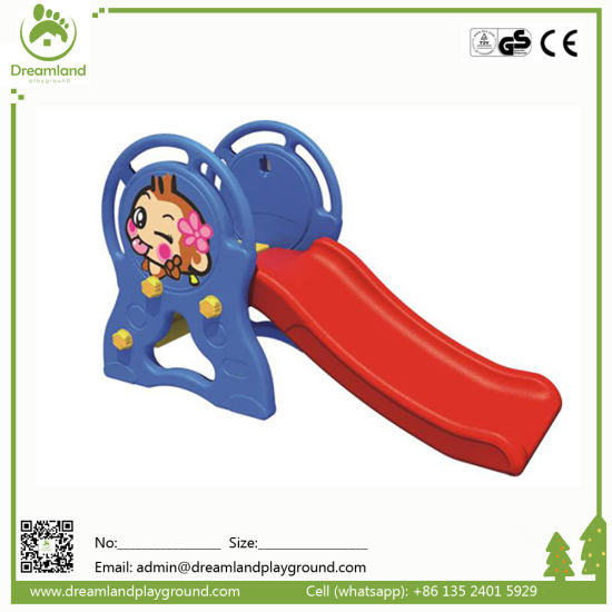 Durable High Quality Colorful Indoor Plastic Slide for Kids pictures & photos