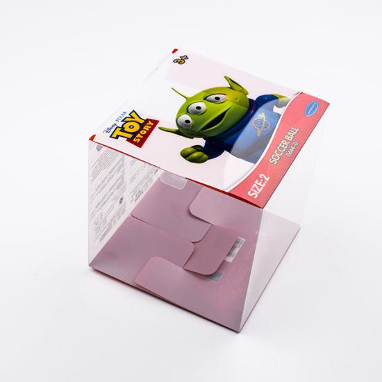 Hot Sale Square Shape Custom Transparent PVC Plastic Gift Box