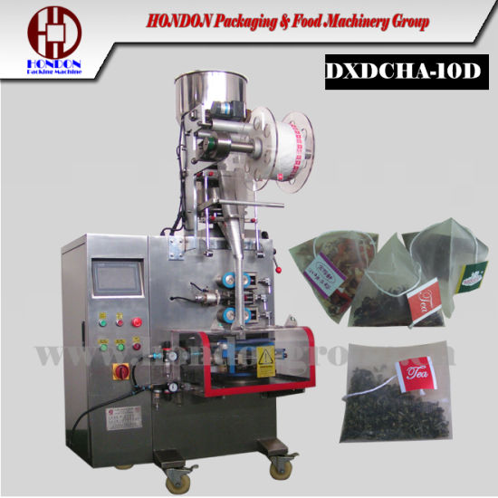 Nylon Pyramid Tea Bag Packaging Machine (DXDCH-10D) pictures & photos