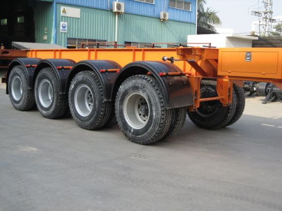 40feet 4 Axles Tanker Chassis Semi - Trailer pictures & photos