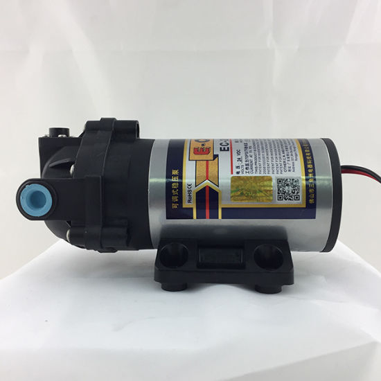 E-Chen 100gpd Diaphragm RO Booster Pump Self Pressure Regulating Ec203 pictures & photos