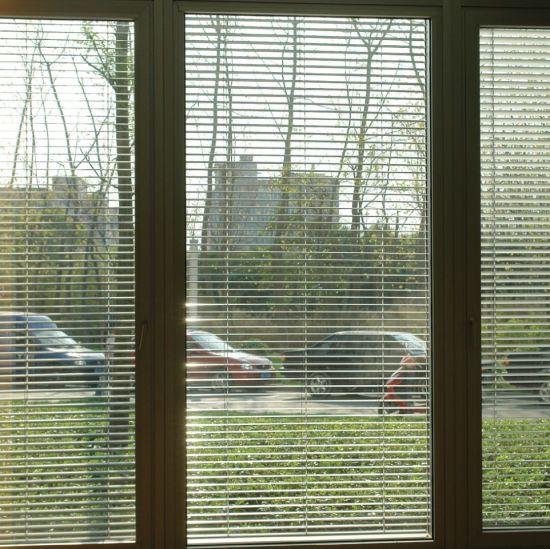 Venetian Mini Blinds in Between Glass/Curtain/Blinds/Aulminum Curtain/Vertical Blind/Roller Blinds