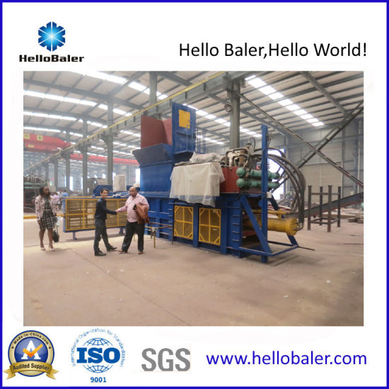 Automatic Horizontal Baler for Paper Recycling pictures & photos