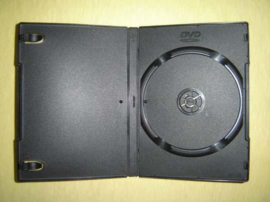 DVD Case, DVD Cover, DVD Box 14mm Single Black (YP-D815H))