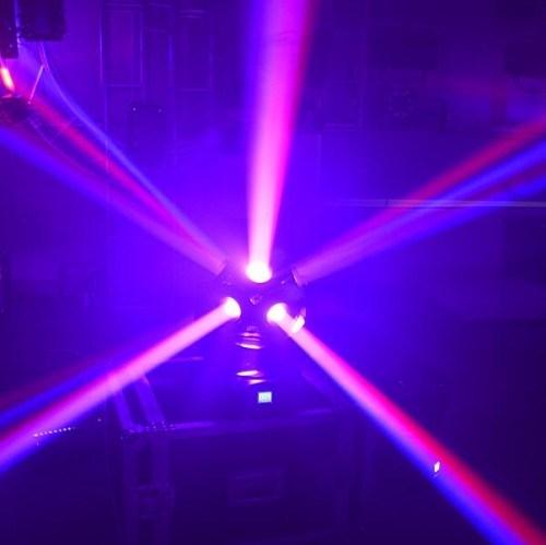 1215W 4in1 RGBW Football LED Moving Head Light Stage Effect DMX512 DJ Disco Lighting