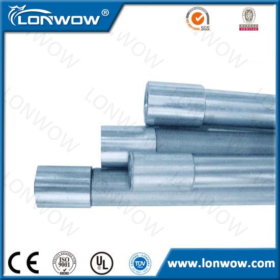 IMC Conduit Intermediate Metal Conduit 1 1/ 2 Inch Galvanized Steel Pipe
