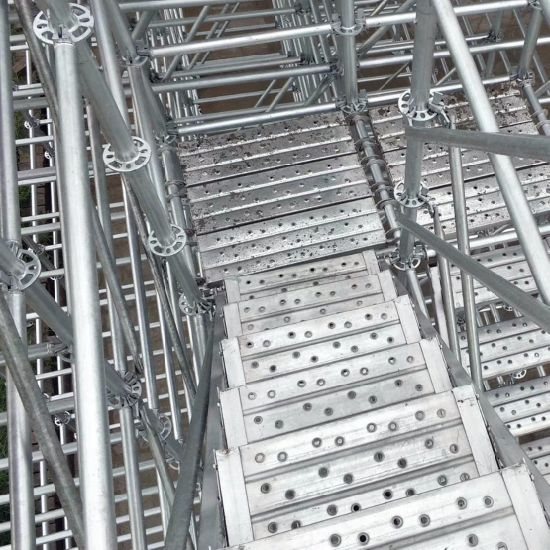 Certified Ringlock Scaffolding for Construction for European Market