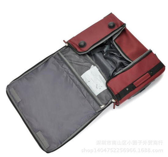 Foldable Rolling Wheel Trolley Travel Duffel Sport Bag pictures & photos