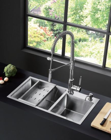 China Handmade Kitchen Sink Ub53093 - China Kitchen Sinks, Kitchen