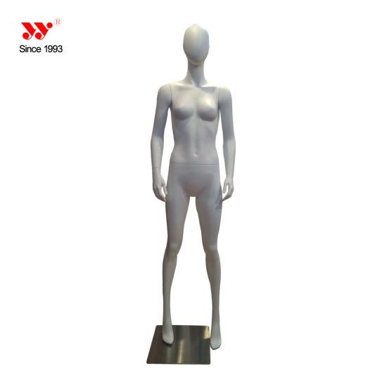 Women's Egg Head Fiberglass Mannequin Abstract Human Body