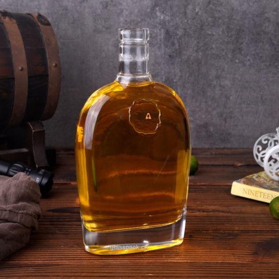 Super Flint Glass Whisky Bottle/Glass Liqueurs Bottle