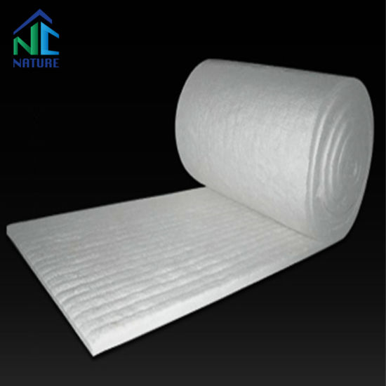 96kg/M3 128kg/M3 China Zibo Factory of Ceramic Fiber Blanket for Furnace Fire Resistant, 7200X610X25mm 3600X610X50mm Temperature St1260c Ha1350c Hz1430c pictures & photos