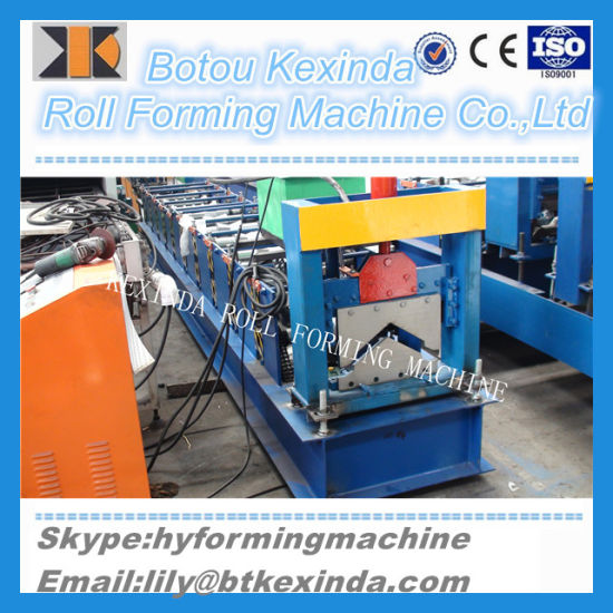 European Standards Metal Ridge Cap Cold Roll Forming Making Machine pictures & photos