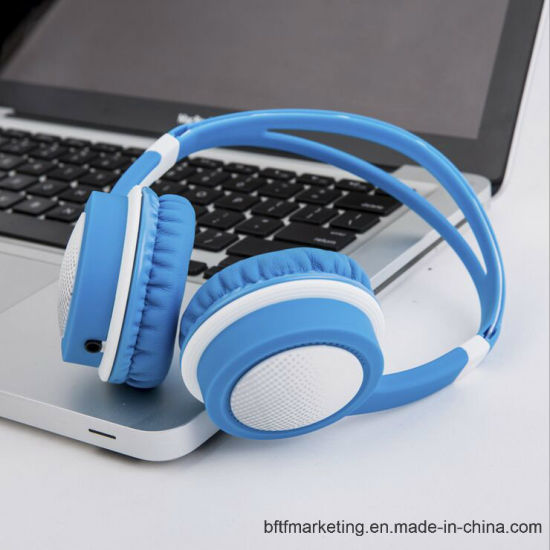Earphone Headphone for Kids Comfortable Designed pictures & photos
