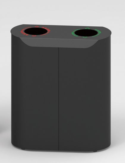 European Style Outdoor Waste Bin From Shining Factory (HW-512) pictures & photos