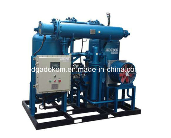 Heatless Regenerative Adsorption Desiccant CNG Natural Gas Dryer pictures & photos