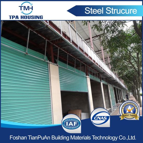 2 Floor Prefab Steel Frame Structure Warehouse pictures & photos