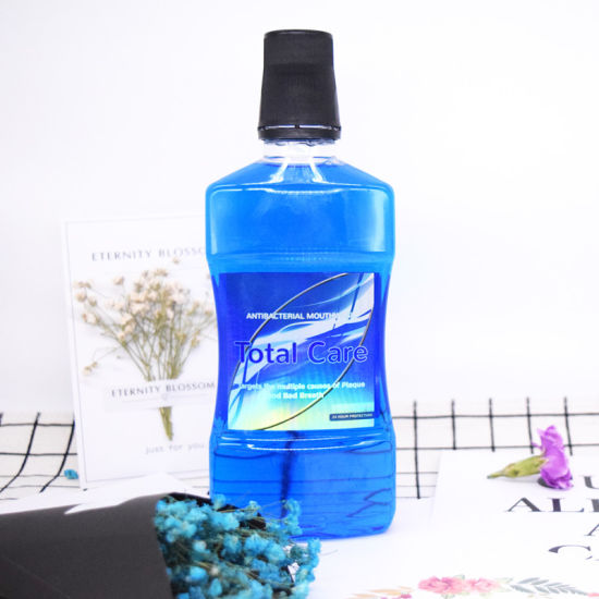 500ml UK Quality Antibacterial Total Care Mouthwash Fresh Breath pictures & photos