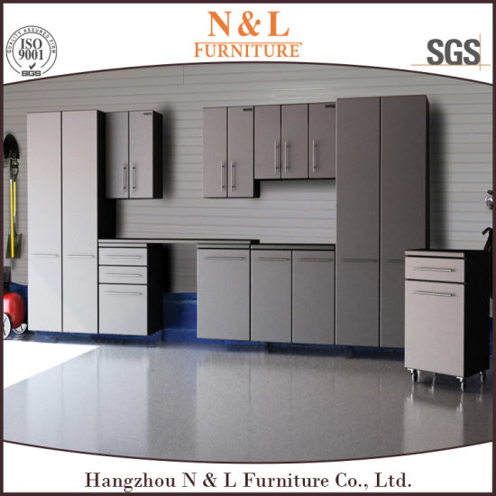 Home Customized Heavy Duty Tool Storage Garage Cabinets with Drawers pictures & photos