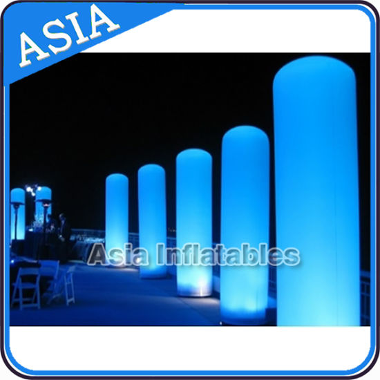 China outdoor inflatable led tube light inflatable advertising tube outdoor inflatable led tube light inflatable advertising tube inflatable lighting decoration indoor decorative led inflatable pillar advertising aloadofball Gallery