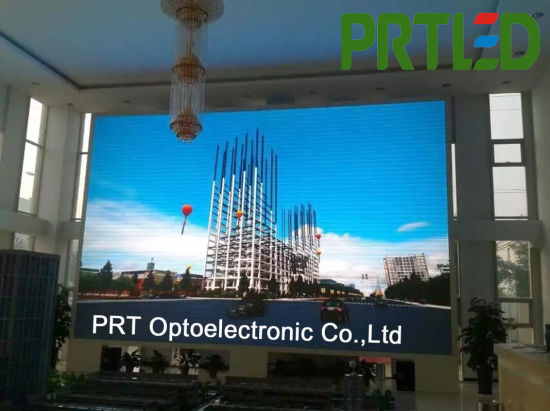 16: 9 High Resolution Indoor LED Video Wall with Double Backup (P1.56, P1.25, P1.875, P2.5) pictures & photos