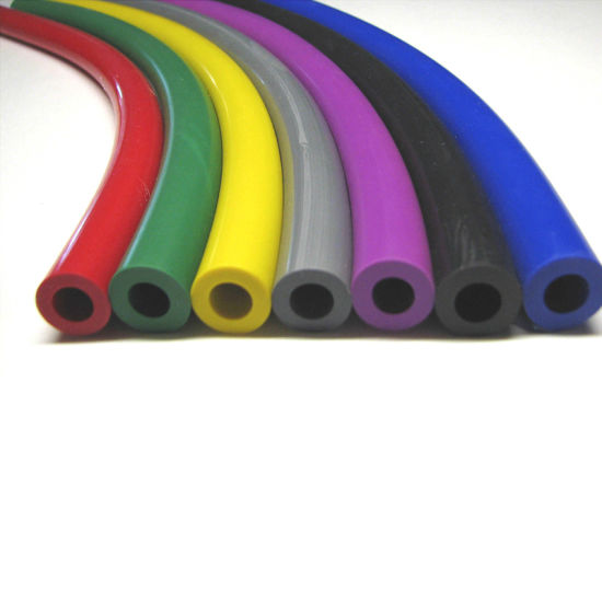 Custom Made FDA Silicon Carbide Cooling Air Pipe Silicone Rubber Tube
