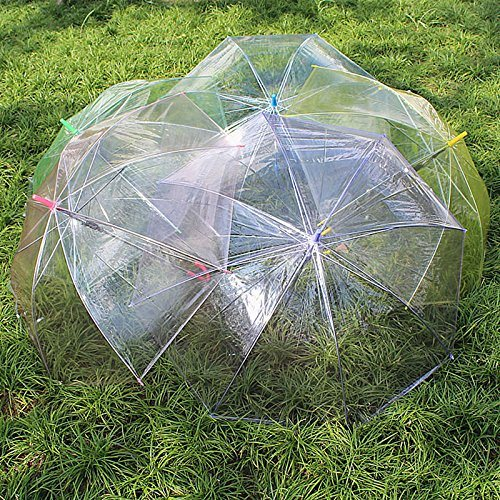 Promotion Custom Target Price Fashion Clear Rain Bubble Dome Umbrella for Kids
